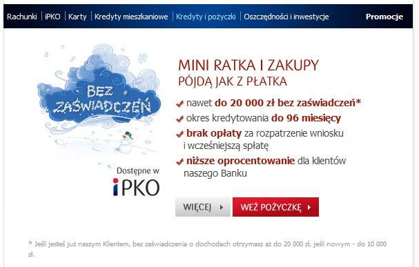 Mini ratka PKO