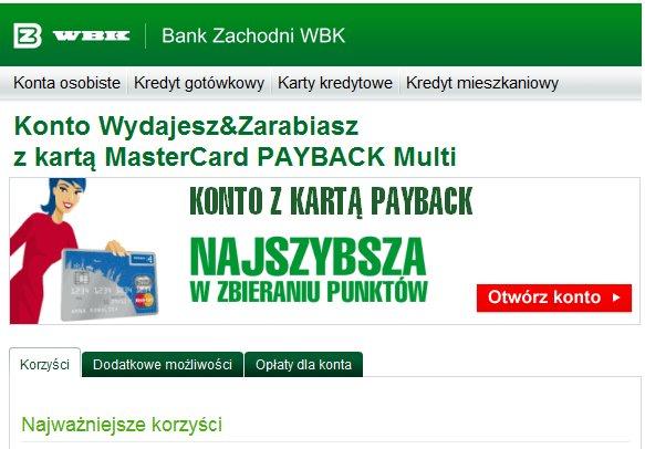 BZ WBK Konto Wydajesz&Zarabiasz