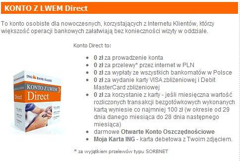 ING Konto Direct