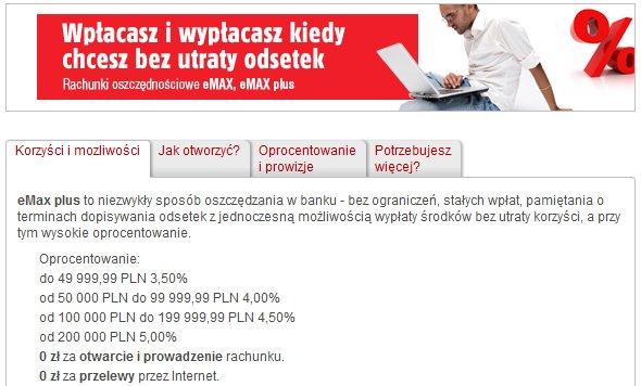 mBank eMAX Plus