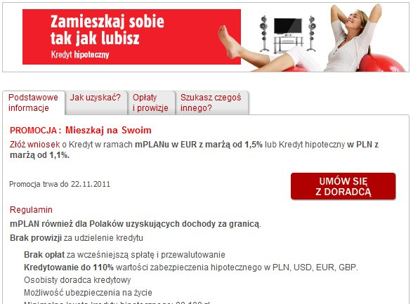 Mbank kredyt hipoteczny