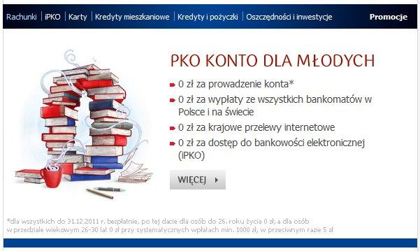 PKO Konto dla młodych