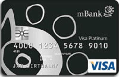 mBank Platynowa karta kredytowa